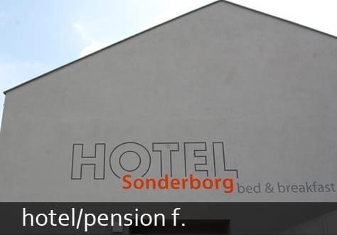 hotel/pension f.